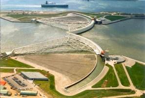 Rotterdam : barrière contre les inondations