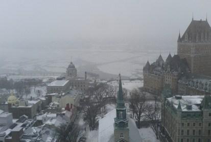 Crédit photo: Jonathan Salmon Paysage hivernal à Québec