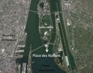 Localisation Place des nations
