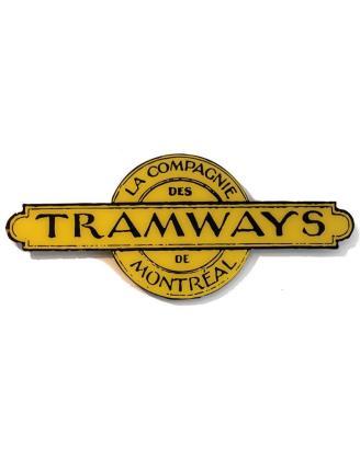 cadre-en-acrylique-logo-de-la-compagnie-des-tramwa