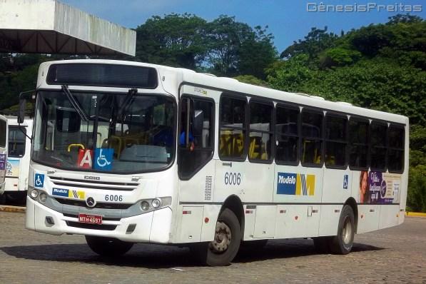 Veículo que originalmente veio integrar a frota da Coletivos São Cristóvão foi transferido para a segunda empresa do grupo na capital baiana com o intuito de atualizar ainda mais a frota da pequena empresa. Foram 12 unidades para a Modelo.
