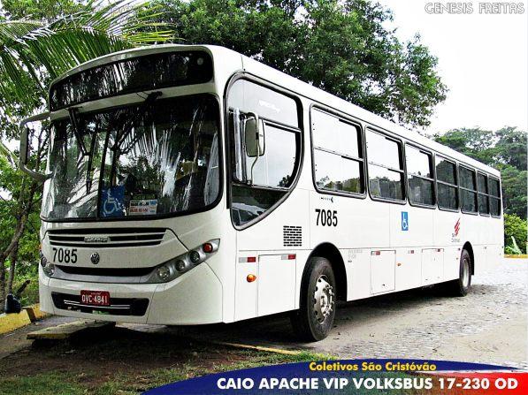 Na Coletivos São Cristóvão são 36 ônibus novos