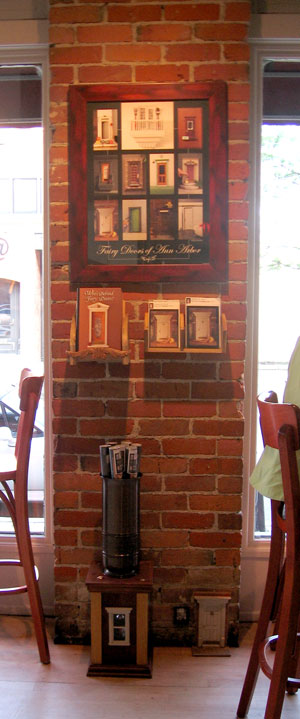 Poster Display in Sweetwaters Cafe