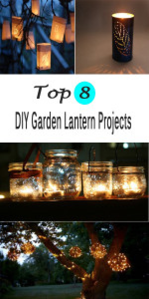 Top 8 DIY Garden Lantern Projects