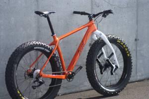Pearl fat bike