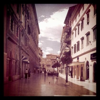 Korzo, Rijeka.