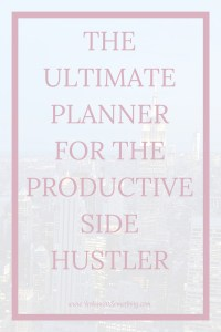 Let's face it- successful side hustling takes a lot of emphasis on productivity. If you want to get anything substantial done around your 9-5, you need to be as productive as possible. Click through for the free productivity planner for side hustlers