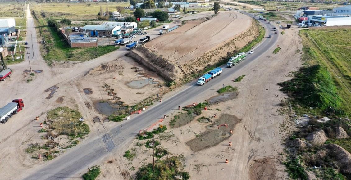"""Se reactivó la obra de autopista """"Paso Urbano por Bahía Blanca"""""""