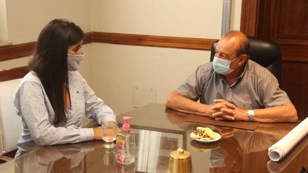 Carmela Moreau, Asesora de la Jefatura de Gabinete Nacional y su visita a Tres Arroyos