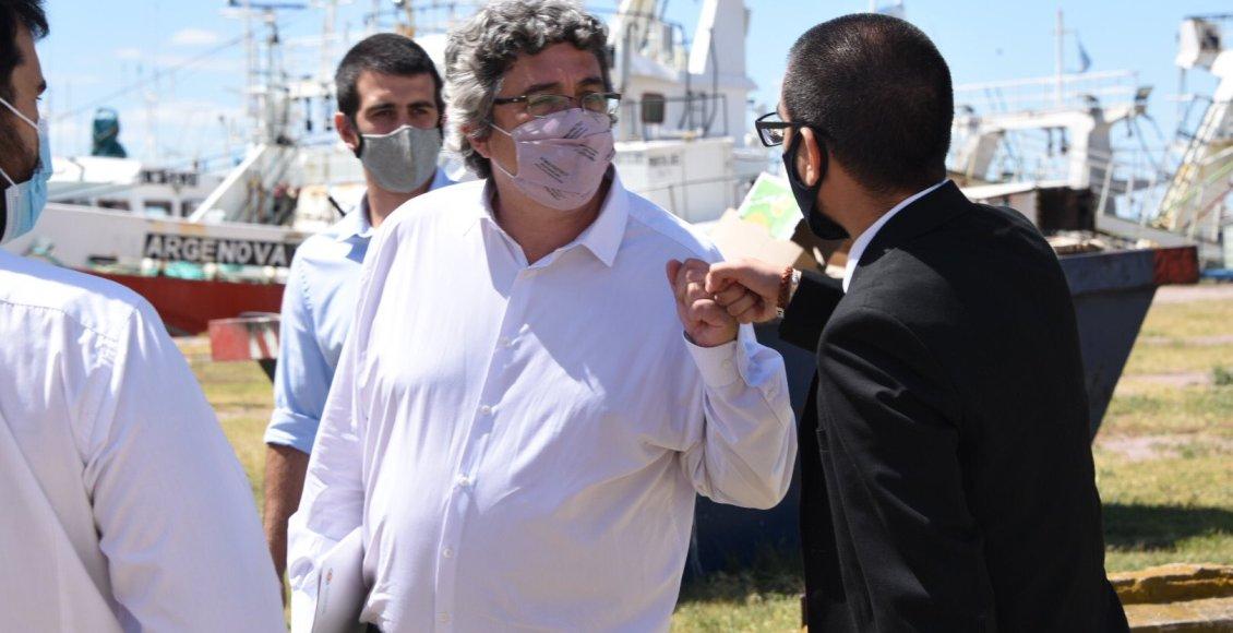 Javier Rodríguez Ministro de Desarrollo Agrario bonaerense
