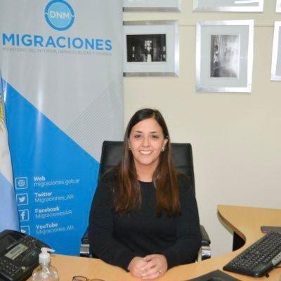 Natalia Sierra Directora Local de Migraciones
