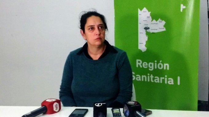 Jorgelina Scuffi Epidemióloga de Región Sanitaria I