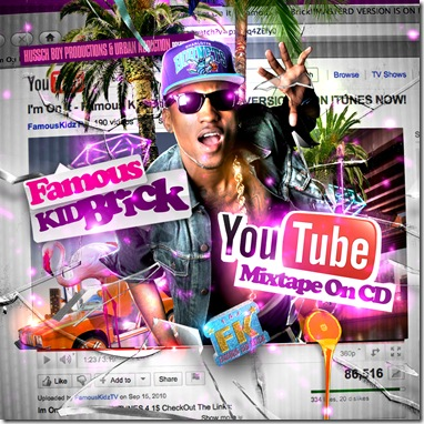 FKB - Youtube Mixtape On CD - Side 1 - Print