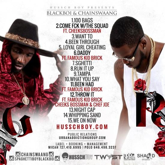 Blackboi x ChainSwaang - R&G (Tracklist)