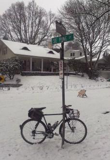 Snow bike?