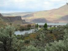 Deschutes River mouth at Columbia River.