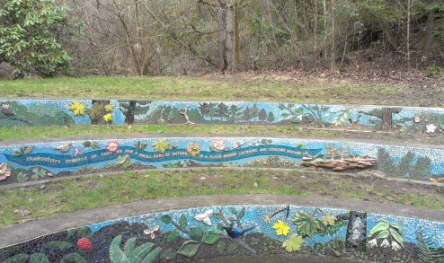 Mosaic amphitheater