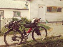 At the Bike Inn in Mount Vernon, Oregon.