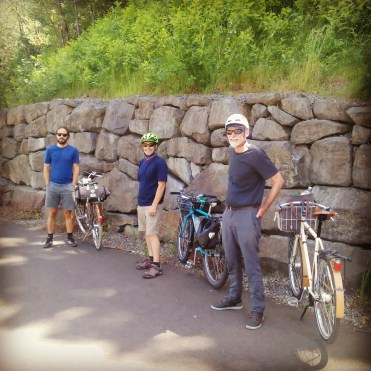 three-speed-riders-getting-ready-to-ride-the-new-section-of-historic-columbia-river-highway-trail-beer-and-food-await-in-cascade-locks-nationalbiketravelweekend-biketravelweekend-threespeedcampingweekend_27391619781_o