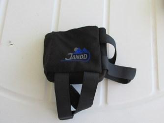 Jandd small top tube bag