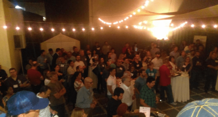 Standing room only at Local Roots Farms