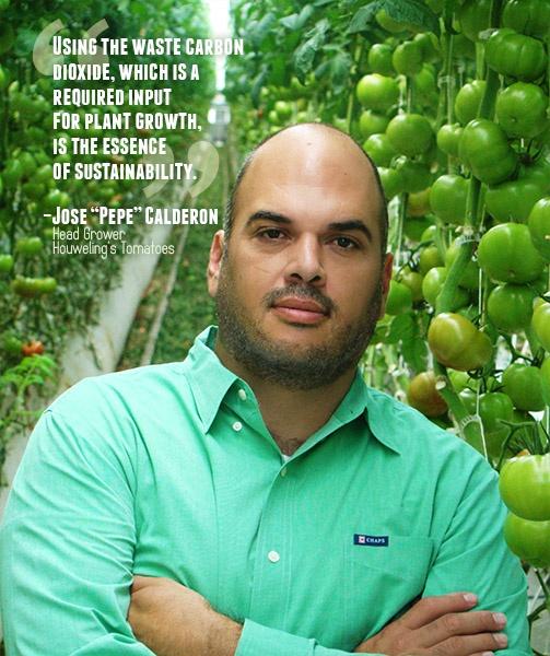 Houweling's Tomatoes Jose Pepe Calderon