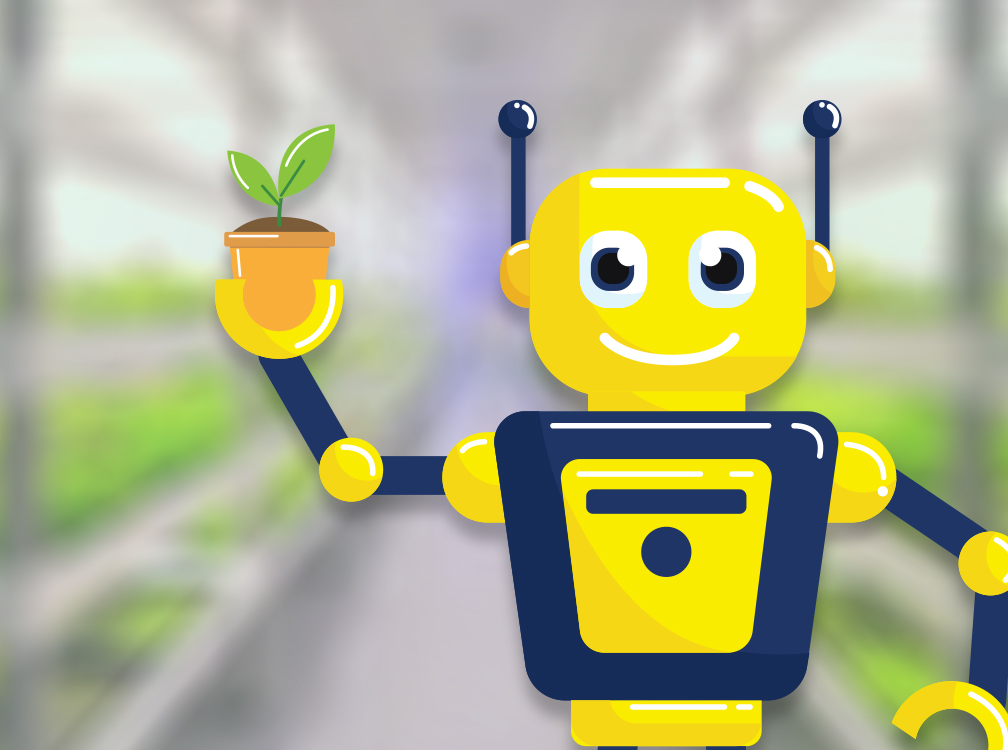 Robots to run commercial farms and I still don't have a...