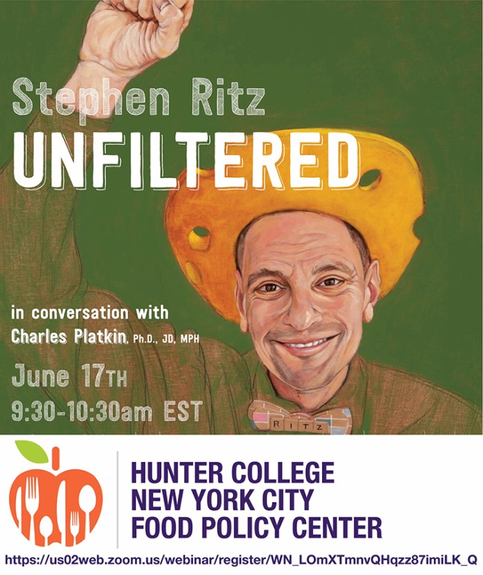 Free Webinar with Stephen Ritz and Charles Platkin