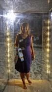 Lucy Barker (NSW) #selfiesculpture Perspex, acrylic, aluiminium, medium-density fibreboard, & LED's. 235 x 112 x 98cm