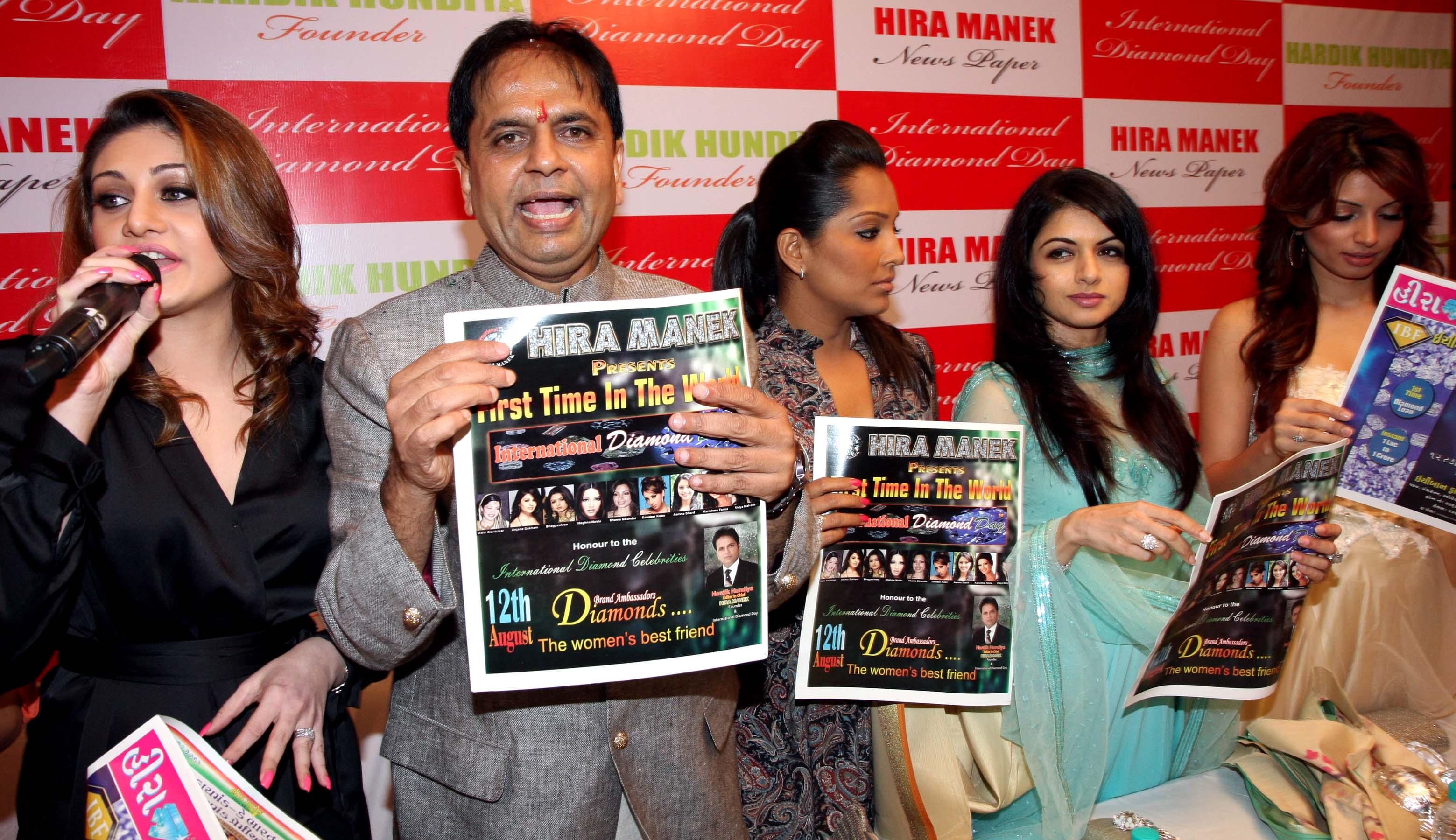 shefali,hardik,meghna,bhagyashree & shama