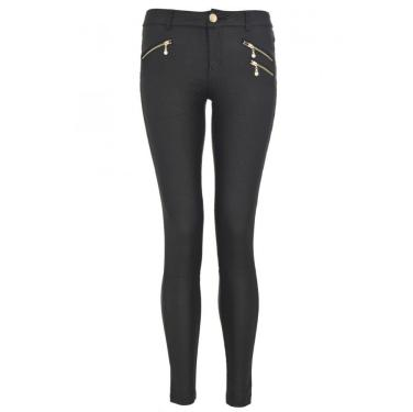 Black Shiny Skinny Trousers
