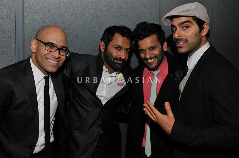 The band: Konrad Payne, Samrat Chakrabarti, Ranjit Arapurakal and Shiv Puri