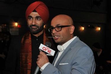 LAUGHistan founder Hansdip Bindra with Hersh Narola