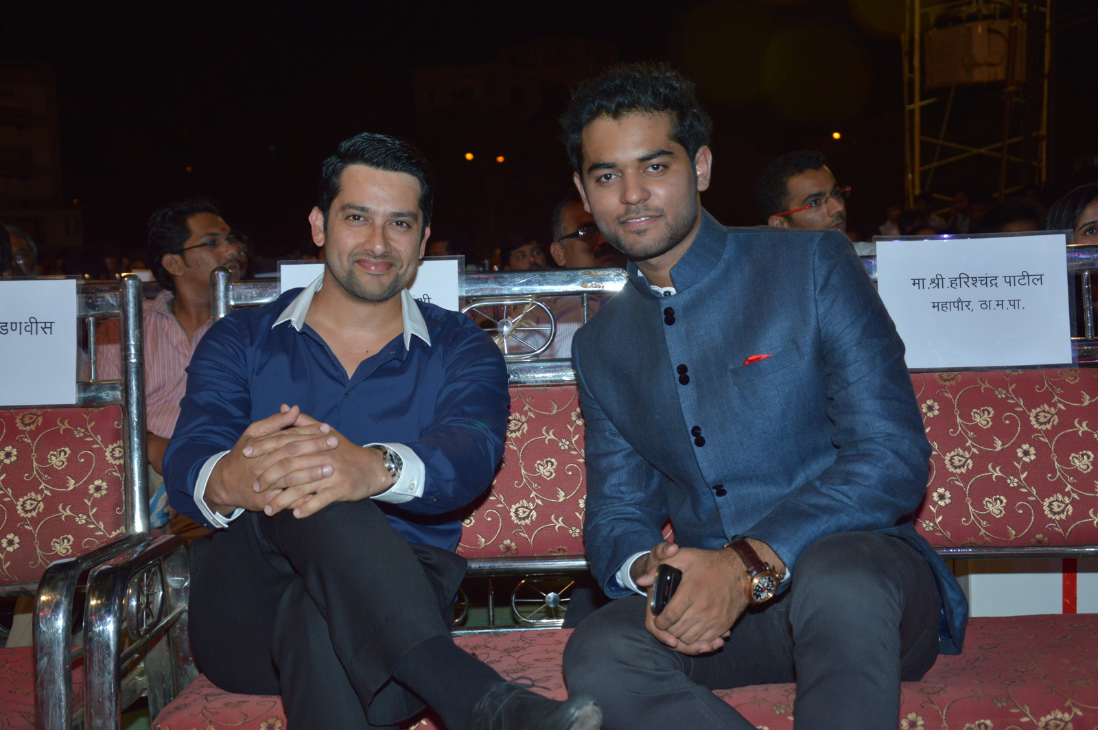 Aftab Shivdasani and Vihang Sarnaik