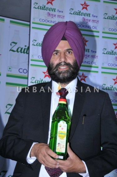 Balwant Singh- Chairman- Tara Health food ltd at zaitoon Tara launch