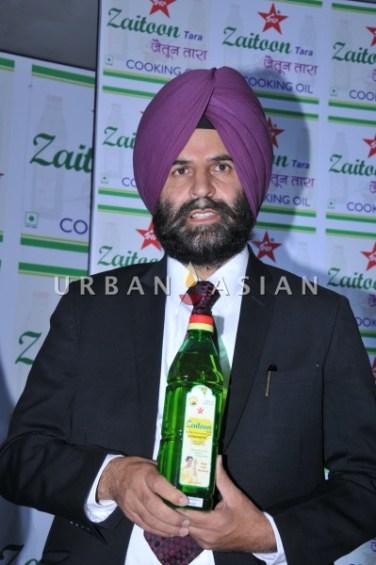 Balwant Singh- Chairman- Tara Health food ltd at zaitoon Tara launch