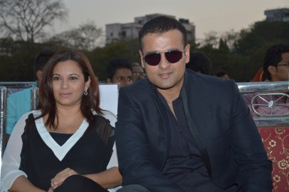 Mansi and Rohit Roy