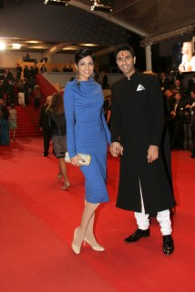 Sandip Soparrkar with his wife Jesse Randhawa at Cannes Film Festival4