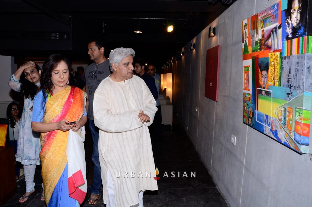 130613_191743Javed Akhtar With Sangeeta Babani