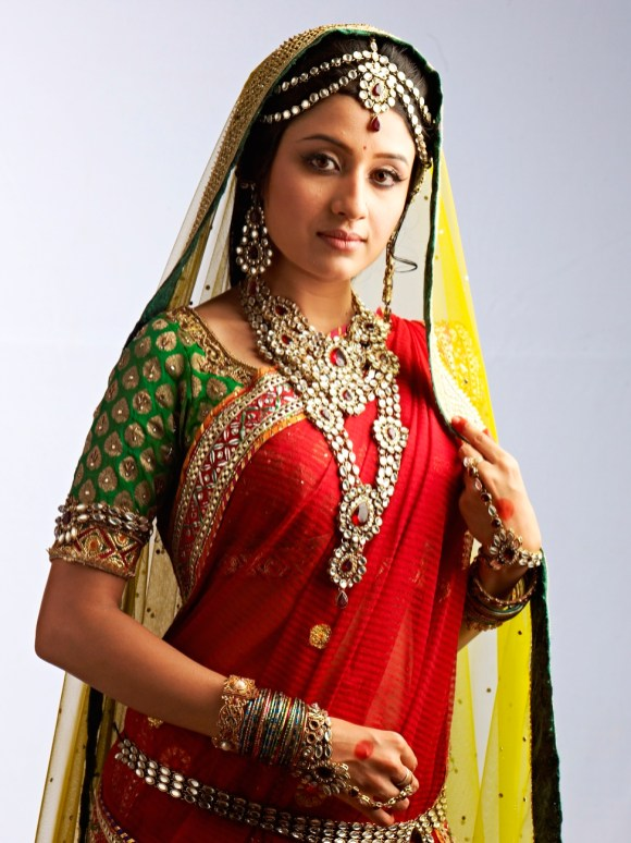 Paridhi Sharma as Jodha in Zee TV's Jodha Akbar