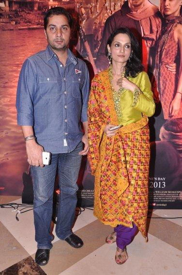 Varun Badola and Rajeshwari Sachdev