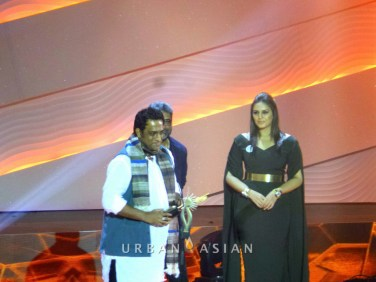 130717_193332Anurag Basu And Huma Qureshi At 14th IIFA awards Macau