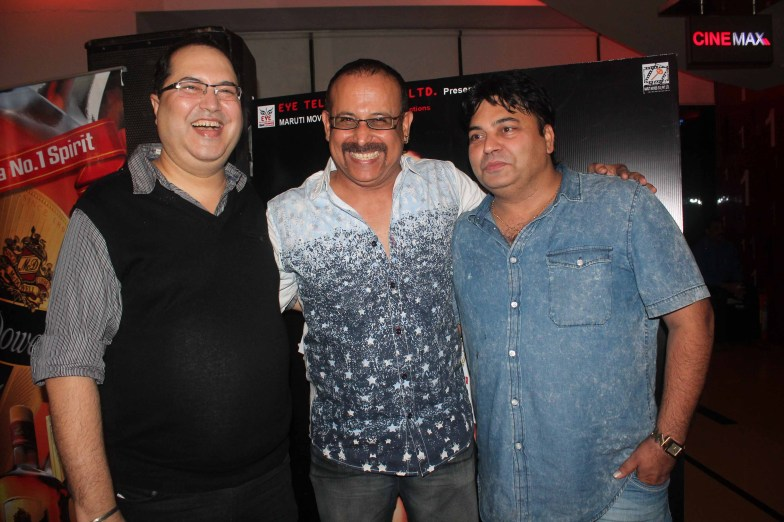 Adi Irani With Director Navin Batra and producer Ravi Ahlawat