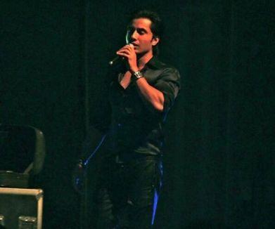 Ali Zafar performing in Orlando