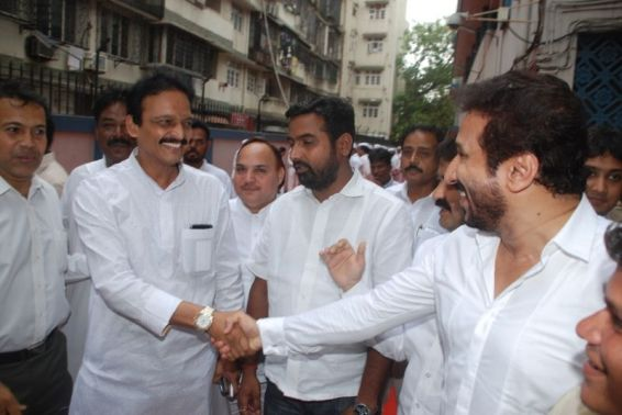 Ashok Bhai Jagtap With Vice-President Of Minority Parvez Lakdawala