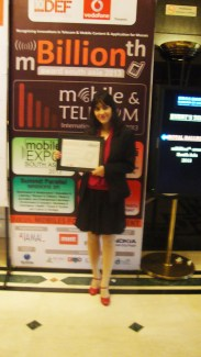 With my CERTIFICATE