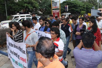 130825_174328Bollywood stars and Journalist Protest against rape case_