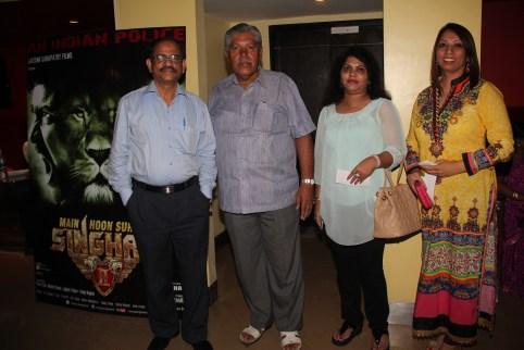 DIG,Ramrao Panwar with his wife and Jay Shankar Chanda and Mrs. Bhardwaj (DCP wife)