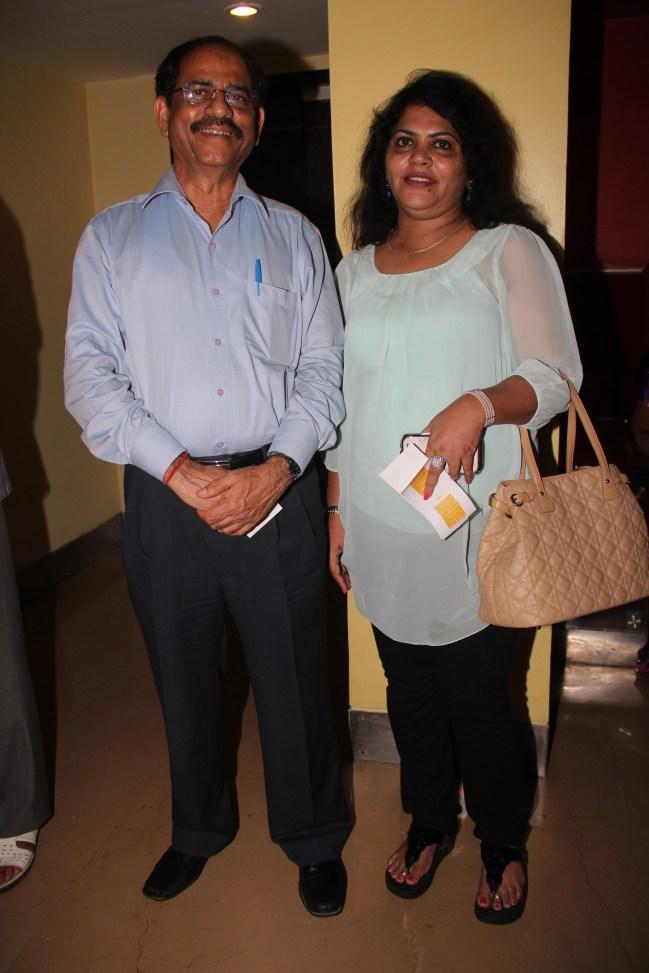 DIG,Ramrao Panwar with his wife