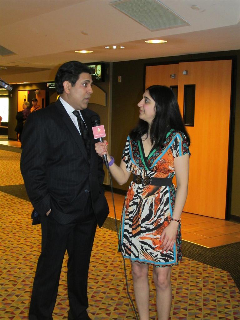 Promise Land 11 - Roopa interviewing Kamal Jospeh Hans, Photo Credit: Poonam Modha